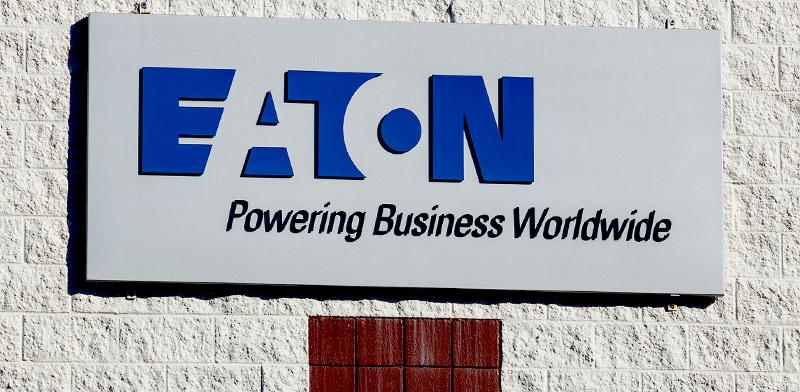שלט חברת איטון, ממובילות המגזר ומוותיקות וול סטריט / צילום: shutterstock
