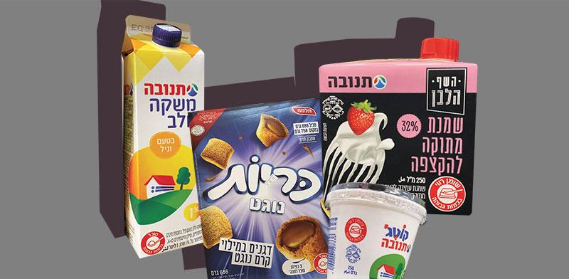 סימון מוצרי המזון / צילום: מיכל רז-חיימוביץ'