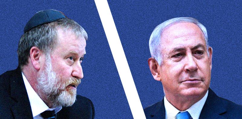 Avichai Mandelblit, Benjamin Netanyahu photos: Alex Kolomoisky, Yediot Ahronot; Eyal Izhar