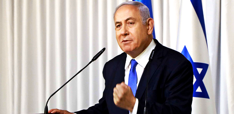 Benjamin Netanyahu  photo: Meir Amiri