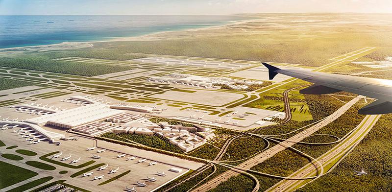 שדה התעופה החדש, איסטנבול / צילום: יחצ