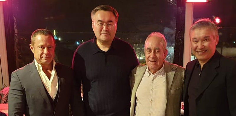 קואנישב, אקירוב, טליאוברדי, לוקסמבורג / צילום: באדיבות קונסול הכבוד של קזחסטן בישראל
