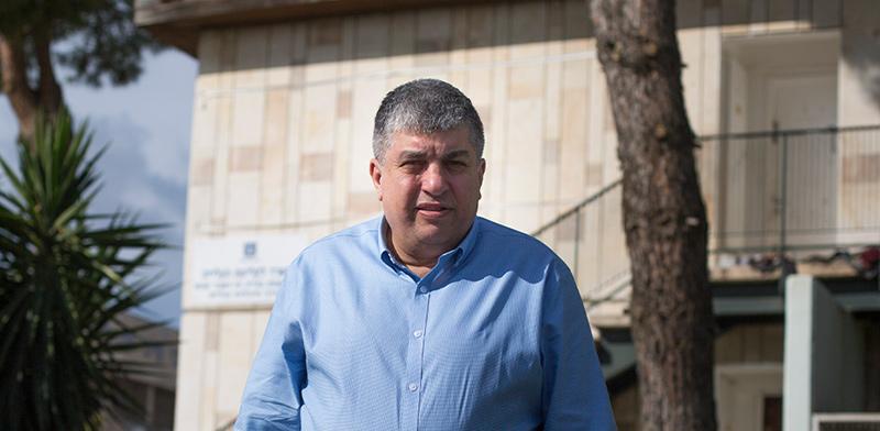 ראש מועצת מבשרת ציון, יורם שמעון / צילום: ליאור מזרחי