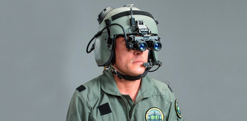 Elbit aviators' night vision imaging system helmet display system