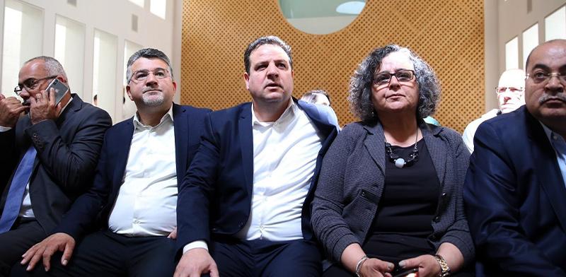 """נציגי מפלגת חד""""ש בדיון בבג""""ץ / צילום: דוברות חד""""ש"""