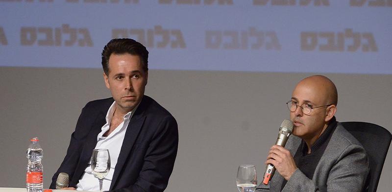 """ברק רוזן ואסף טוכמאייר בוועידת ישראל לנדל""""ן / צילום: איל יצהר"""