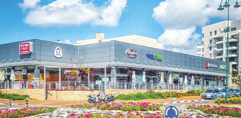 מרכז מסחרי בנס-ציונה / צילום: Shutterstock, א.ס.א.פ קריאייטיב