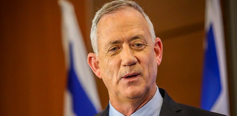 Benny Gantz Photo: Shlomi Yosef