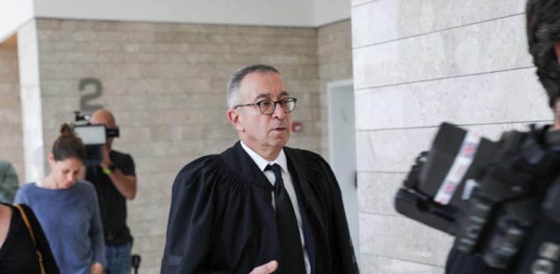 בעז בן צור, עורך הדין של נתניהו/ צילום: כדיה לוי