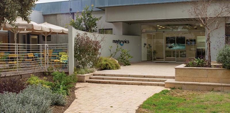 מפעל מיטרוניקס בקיבוץ יזרעאל. צופה עלייה בהכנסות ב־2019 / צילום: מצגת החברה