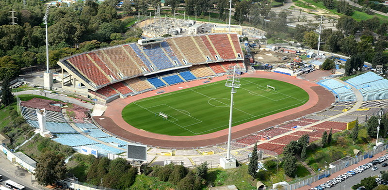 Ramat Gan National Stadium Photo: Eyal Izhar