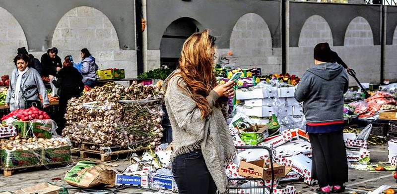 שוק שדרות / צילום: שלומי יוסף
