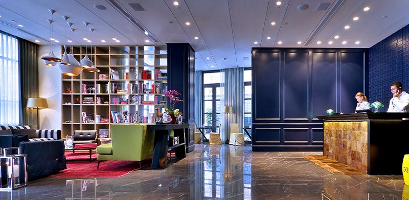 """מלון הבוטיק אינדיגו ברמת-גן / צילום: יח""""צ אינדיגו"""