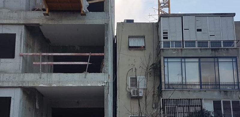 הבניינים ברחוב הפודים 33-35 ברמת-גן / צילום: איל יצהר וגיא ליברמן