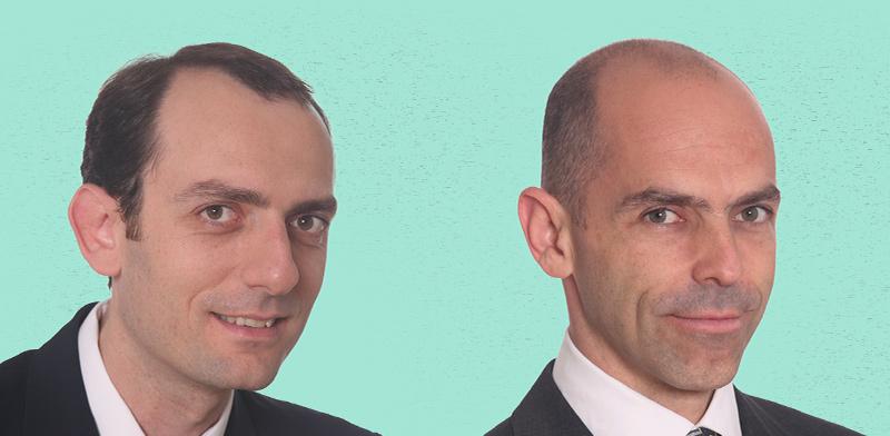 """ראובן הריסון ורובי כיטוב, מייסדי חברת תופין / צילומים: יח""""צ"""