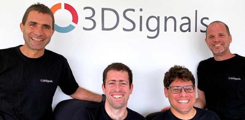 מימין לשמאל דודו קורן, עופר אפיאס, עמית אשכנזי, אריאל רוזנפלד / צילום: 3DSignals