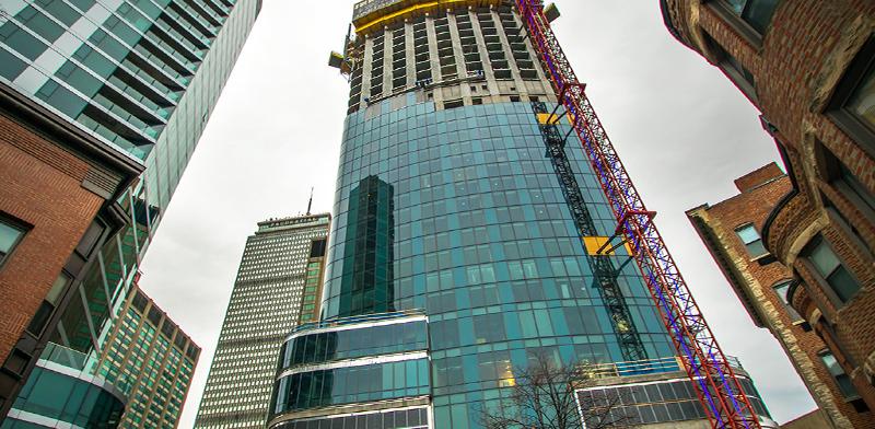 וואן דלטון סטריט בבוסטון. 40 מיליון דולר לפנהטאוז, חצי לדירה שתחתיו / צילום: Shutterstock