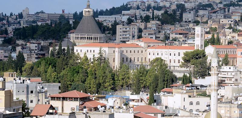 נצרת. הקרקע בבעלות הכנסייה, הקונה מוסלמי שהתקשר עם נאמן נוצרי / צילום: איל יצהר