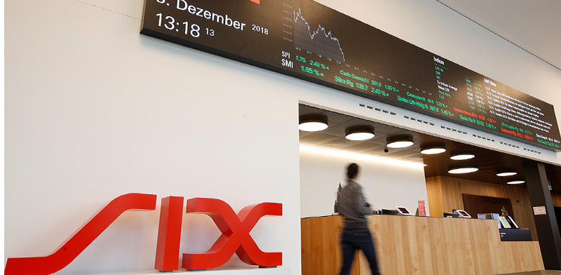 הבורסה השוויצרית SIX בציריך / צילום: רויטרס