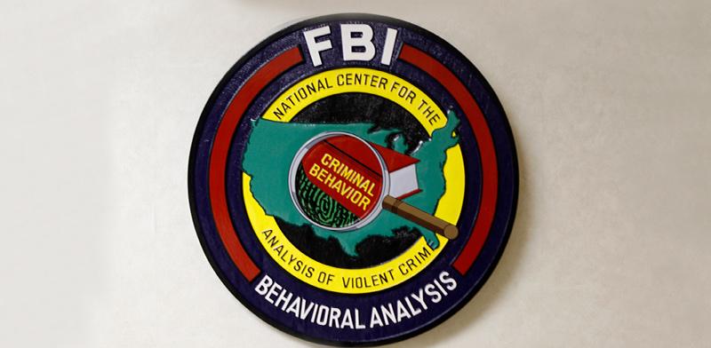 סמל יחידת ניתוח התנהגותי של ה-FBI / צילום: רויטרס