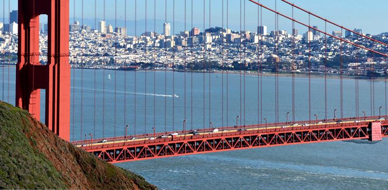גשר הזהב סן פרנסיסקו / צילום: רויטרס