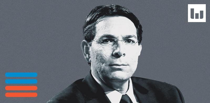 """שגריר ישראל באו""""ם, דני דנון / צילום: שלומי יוסף, עיבוד תמונה: טלי בוגדנובסקי"""
