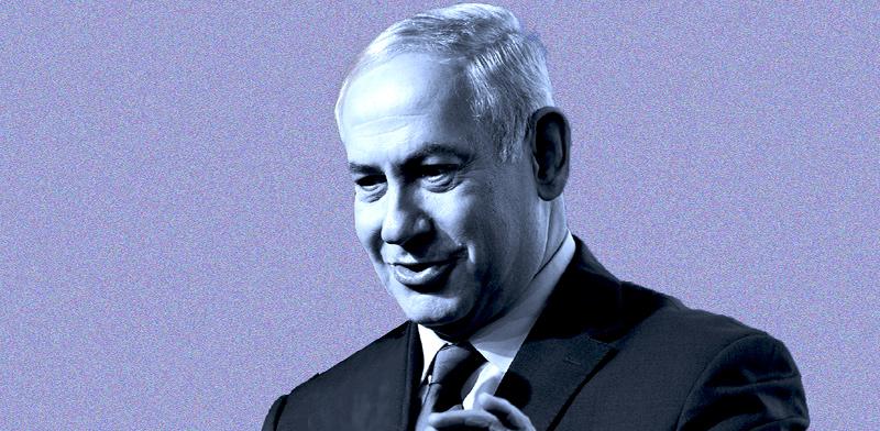 ראש הממשלה בנימין נתניהו / צילום: איל יצהר, עיבוד: טלי בוגדנובסקי