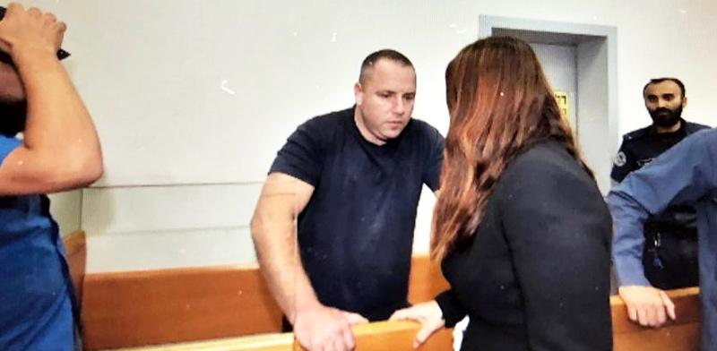 ארבל אלוני בדיון היום בבית המשפט / צילום: ג'וזף