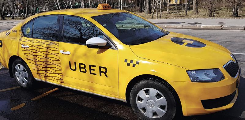 מונית של אובר / צילום: shutterstock