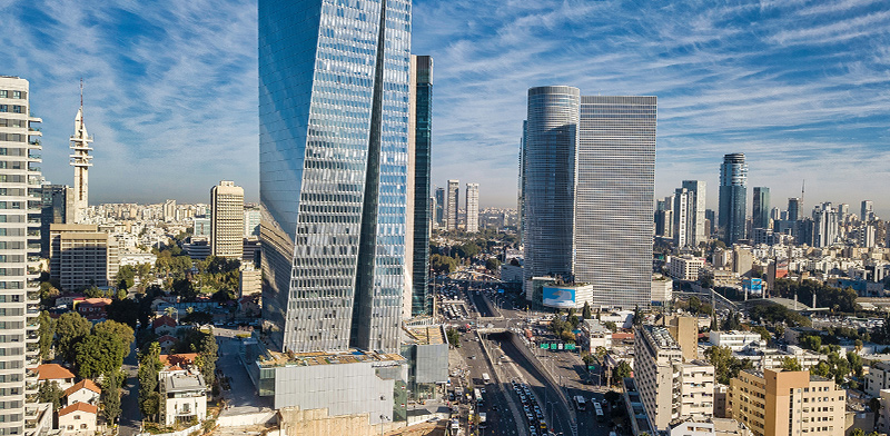 High-rises in Tel Aviv