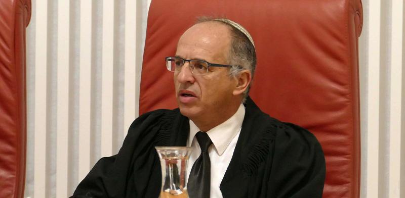 שופט העליון נעם סולברג / צילום: אוריה תדמור