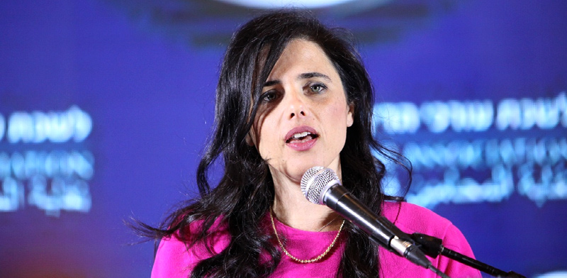 Ayelet Shaked Photo: Liav Peled