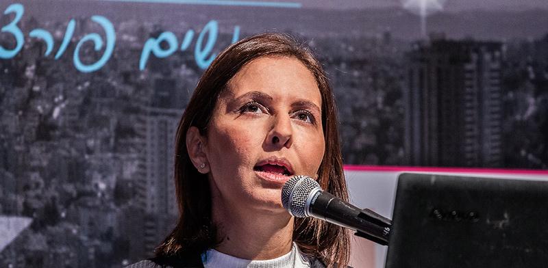 גילה גמליאל בכנס הפתיחה של וועידת ישראל לנשים ועסקים / צילום: כדיה לוי