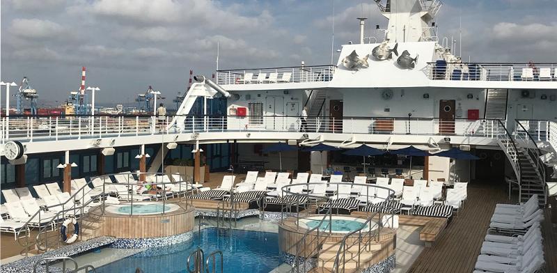 סיפון האונייה Insignia / צילום: מיכל רז–חיימוביץ'