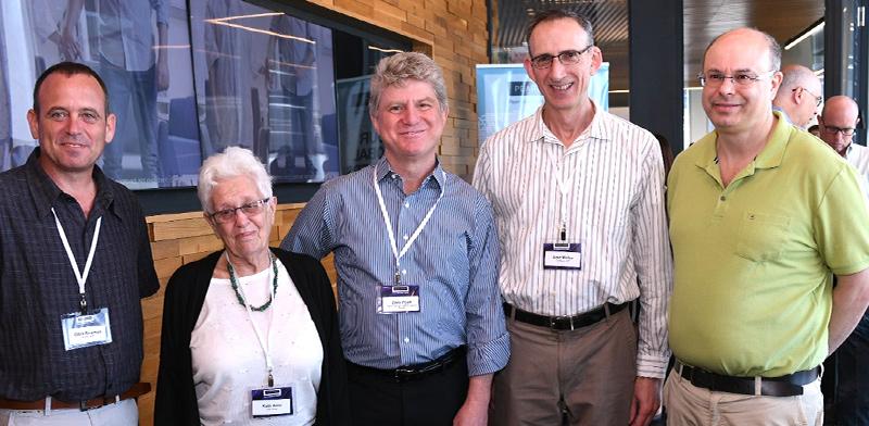 Pearl Zedek conference Photo: Israel Hadar