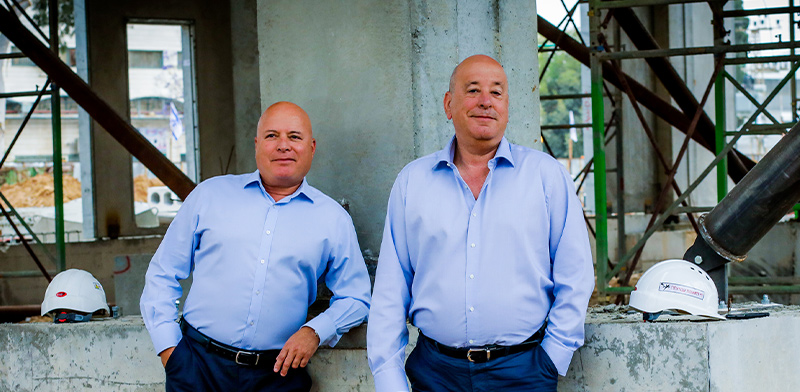 רוני וייס ויואל וייס / צילום: שלומי יוסף