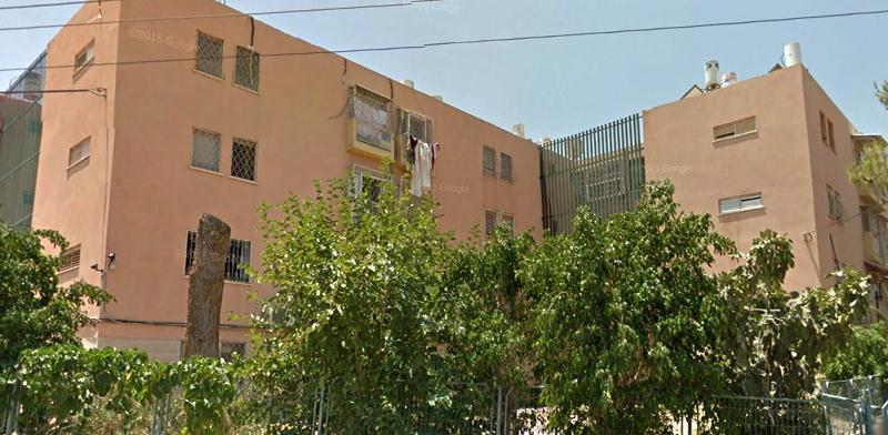 """בניין בשכונה ד' בבאר-שבע / צילום: יח""""צ"""