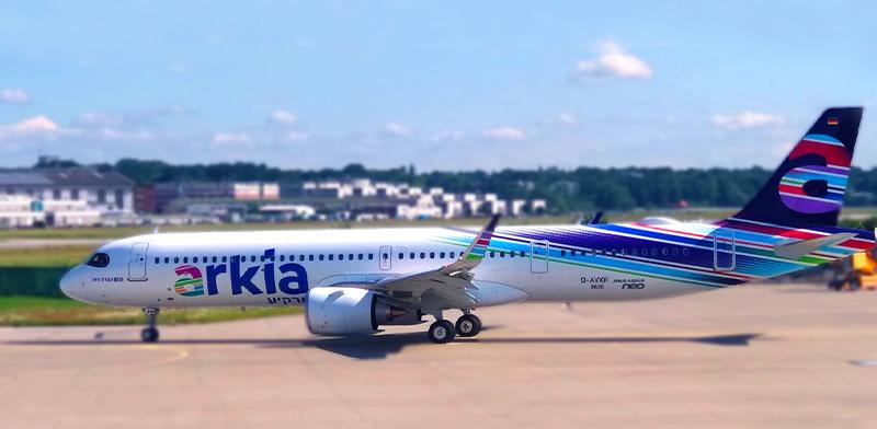 Arkia Neo 321 LR Ofra Haza  / Photo: Arkia spokesperson