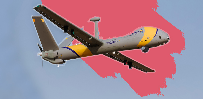 Elbit Hermes 900 Starliner Photo: Elbit Systems