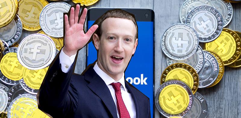 פייסבוק משיקה מטבע דיגיטלי משלה / צילום: רויטרס, shutterstock, עיבוד: טלי בוגדנובסקי
