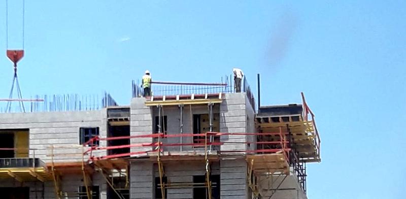 """בנייה באשדוד / צילום: יח""""צ"""