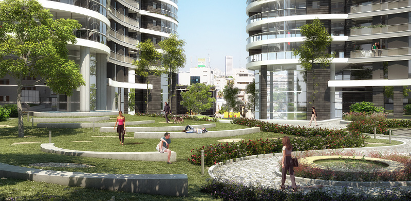 פרויקט השוק הסיטונאי – גינדי TLV, הפארק / הדמיה: גינדי TLV,