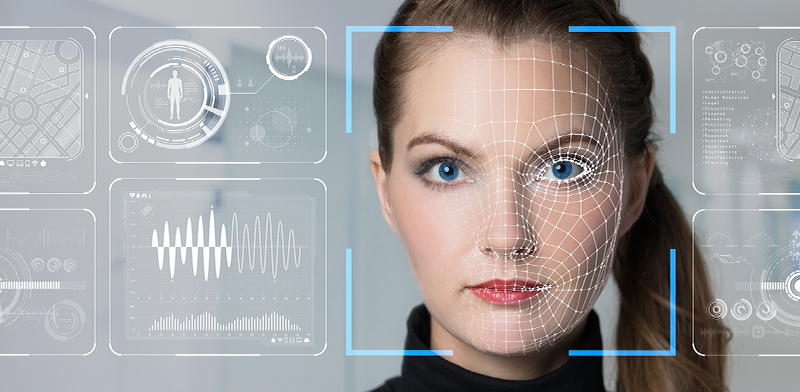 מערכת לזיהוי פנים אלקטרוני / צילום: shutterstock