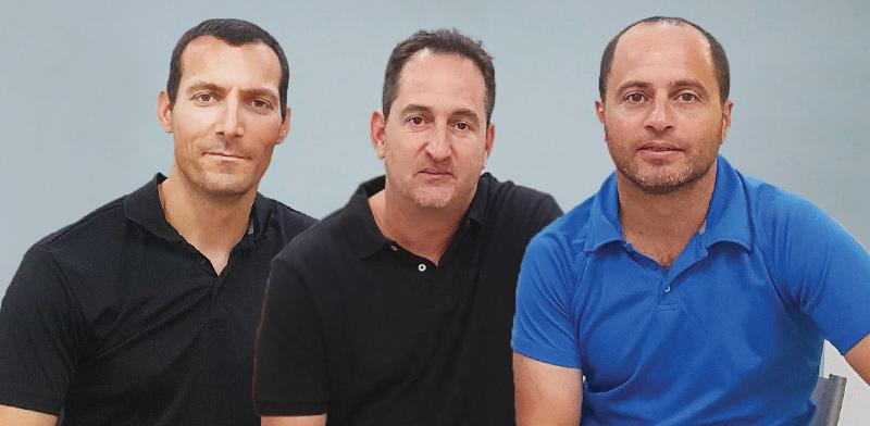 מייסדי Skyformation: נדב לביא, אסף ברקן ואורי בן דור  / צילום: Sumo creative,
