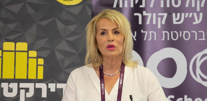 """רו""""ח איריס שטרק, נשיאת לשכת רואי החשבון / צילום: כדיה לוי"""