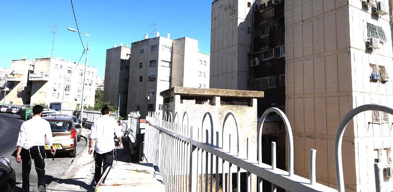 הבניינים ברחוב שטרן. המתנגדים חוששים מפירוק הקהילה בגלל העזיבות / צילום: יוסי זמיר