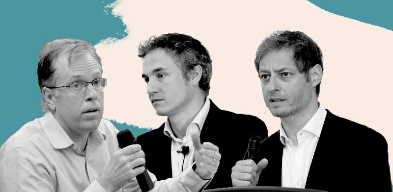 בוריס סגאליס, סדריק בורטון ודיוויד הופמן / צילומים: יעל צור ועמית פייס