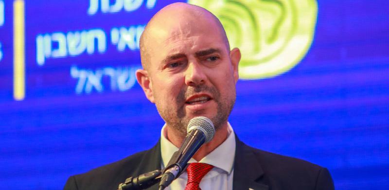 שר המשפטים אמיר אוחנה בכנס לשכת רואי החשבון באילת / צילום: שלומי יוסף
