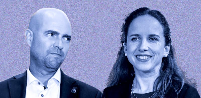 סתיו שפיר ואמיר אוחנה / צילומים: כדיה לוי, לשכת עורכי הדין