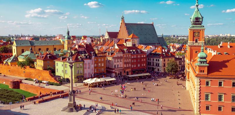 העיר העתיקה של ורשה. צומת תחבורה אידיאלי / צילום: shutterstock